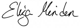 Eliza Signature