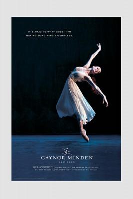 Gillian's Backbend Poster