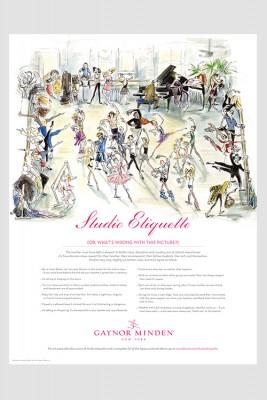 Studio Etiquette Poster