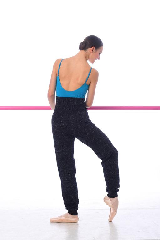 Knit Warm-up Pants